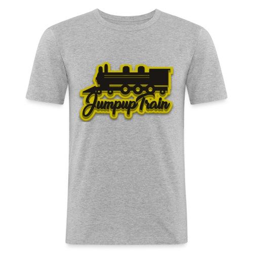 JUMPUPTRAIN - Mannen slim fit T-shirt