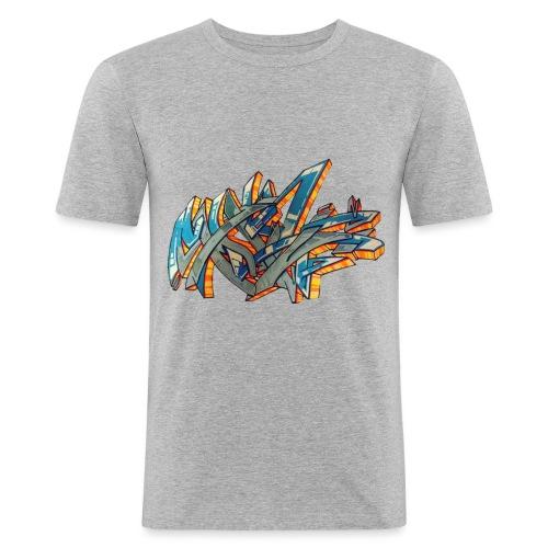 Srow wildstyle sensation 1 - T-shirt près du corps Homme