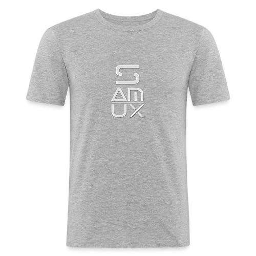 SamuX - Maglietta aderente da uomo