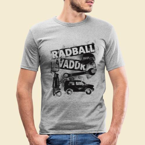Radball   Vaddr - Männer Slim Fit T-Shirt