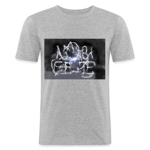 Fake Metal Band - Maglietta aderente da uomo