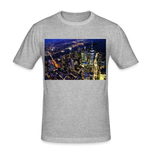 New york - T-shirt près du corps Homme