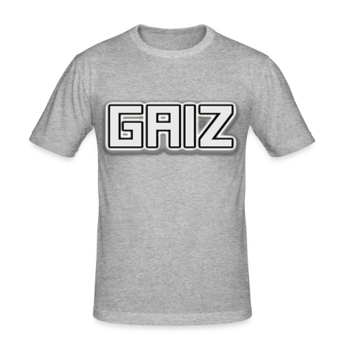 GAIZ-SENZA COLORE-BIANCO - Maglietta aderente da uomo
