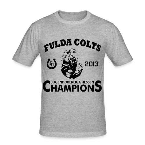 champs2013 - Männer Slim Fit T-Shirt