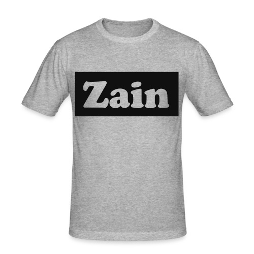 Zain Clothing Line - Men's Slim Fit T-Shirt