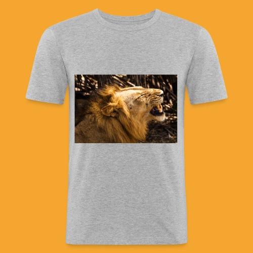 TANZANIA 6091 jpg - Männer Slim Fit T-Shirt
