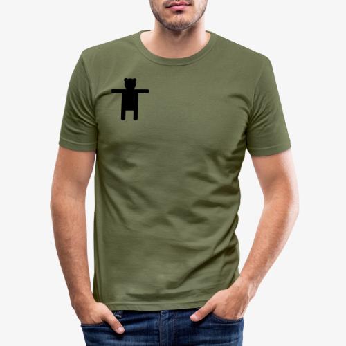 Epic Ippis Entertainment logo desing, black. - Men's Slim Fit T-Shirt