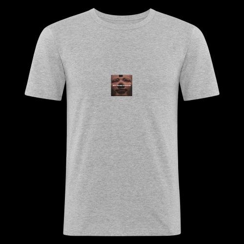 Why be a king when you can be a god - Men's Slim Fit T-Shirt