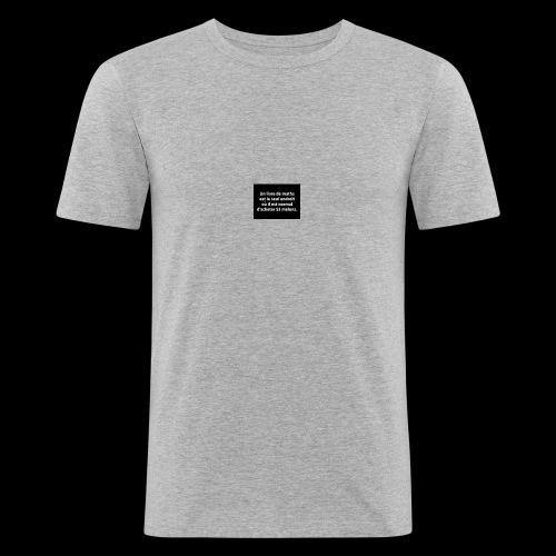 drôle - T-shirt près du corps Homme