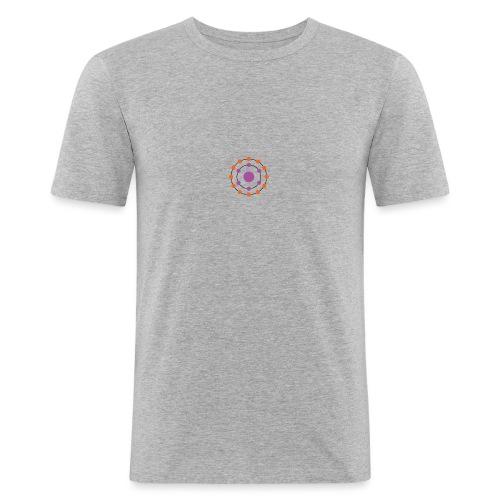 Antioxidants Logo T-Shirt - Men's Slim Fit T-Shirt