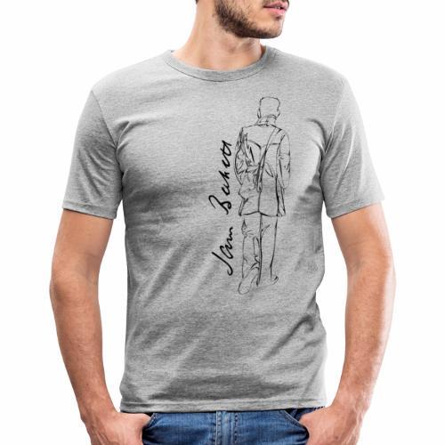 Samuel Beckett - Men's Slim Fit T-Shirt