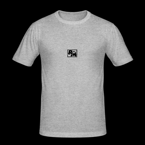 Runt Mods Black - Men's Slim Fit T-Shirt