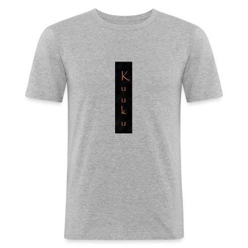 kuuku teksti - Miesten tyköistuva t-paita