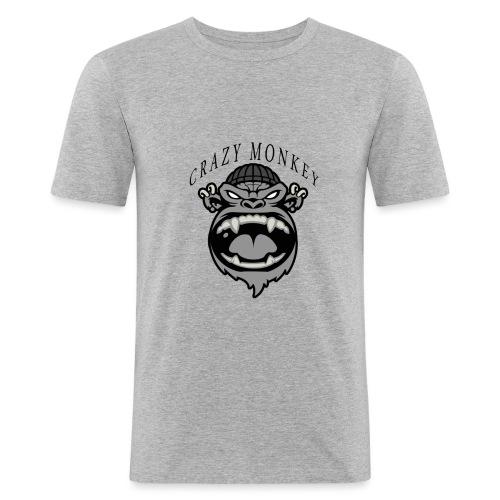 CRAZY MONKEY collection - T-shirt près du corps Homme