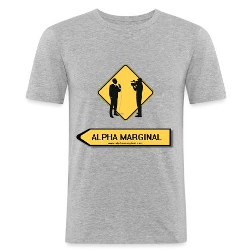 Alpha Marginal - T-shirt près du corps Homme