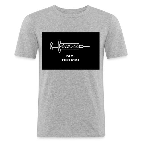 geek mania - T-shirt près du corps Homme