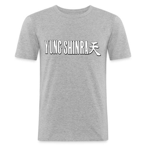 Yung Shinra Logo - Men's Slim Fit T-Shirt