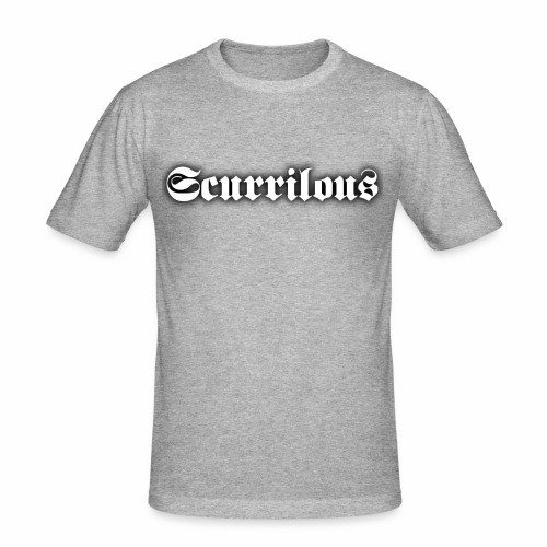 Scurrilous Season 2 - Men's Slim Fit T-Shirt