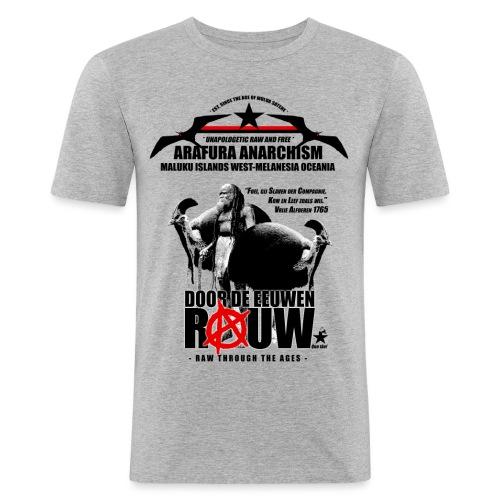 Arafura Anarchism - Mannen slim fit T-shirt
