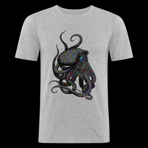 Oktopus Goa - Männer Slim Fit T-Shirt