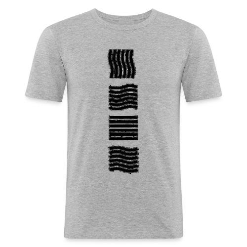 Les 4 élements - T-shirt près du corps Homme