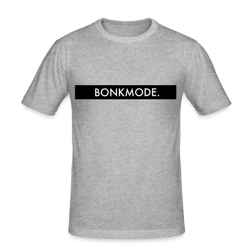 BONKMODE (Merchandise TheBonk) - Mannen slim fit T-shirt