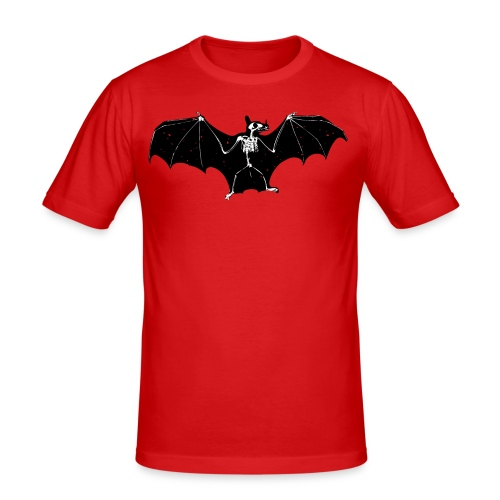 Bat skeleton #1 - Men's Slim Fit T-Shirt