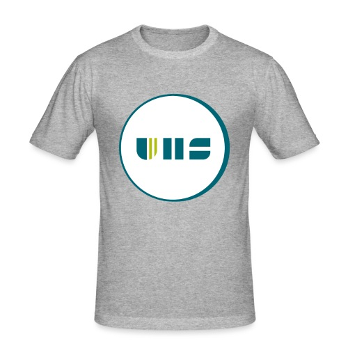 UHS Logo - Männer Slim Fit T-Shirt