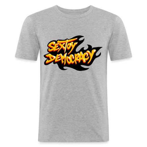 Sextoy Democracy - T-shirt près du corps Homme