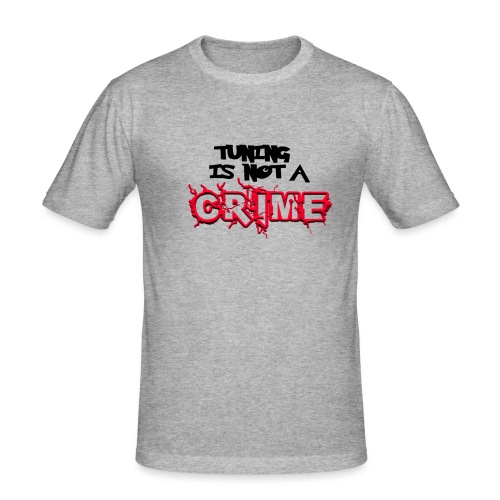 Tuning is not a crime - Männer Slim Fit T-Shirt