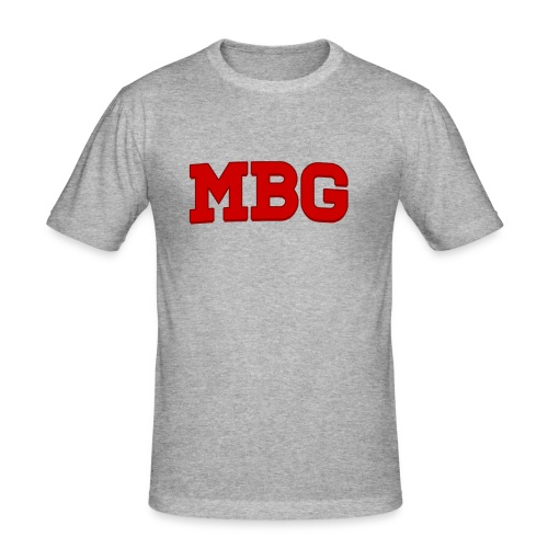 MBG - Mannen slim fit T-shirt