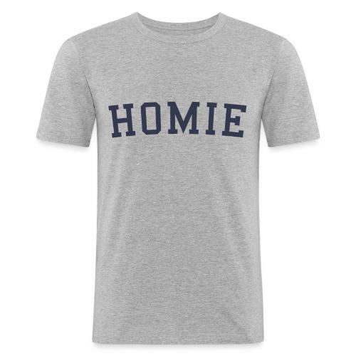 homierent dark - Men's Slim Fit T-Shirt