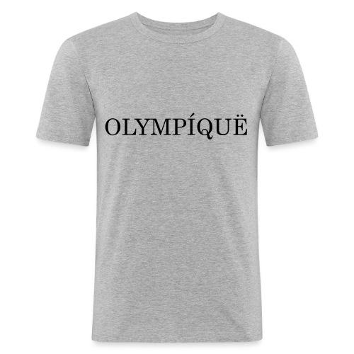 OLMPQ - Mannen slim fit T-shirt