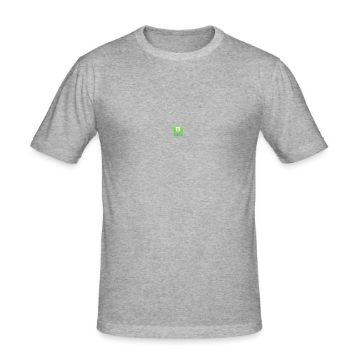 BlockIz logo - Slim Fit T-shirt herr