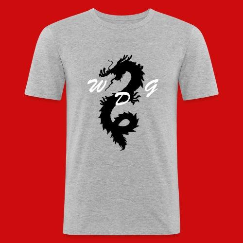 WoodDragonGaming Logo - Men's Slim Fit T-Shirt
