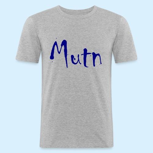 Mutn - Mannen slim fit T-shirt