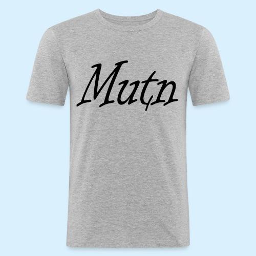 ontwerp2mutn - Mannen slim fit T-shirt