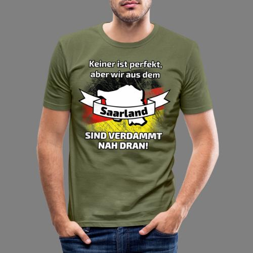 Perfekt Saarland - Männer Slim Fit T-Shirt