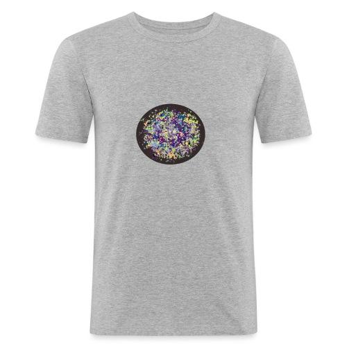 bola de color - Camiseta ajustada hombre