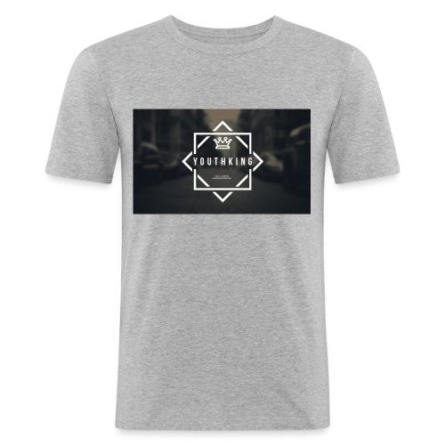 Youth King logo - Men's Slim Fit T-Shirt