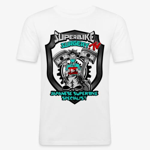 Superbike Surgery TV - Men's Slim Fit T-Shirt
