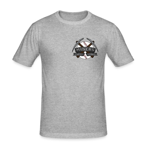 Miners ball noshaddow edit gif - Slim Fit T-skjorte for menn
