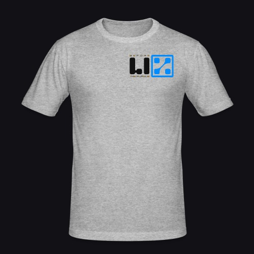 LIZ Before the Plague (Logo) - Maglietta aderente da uomo