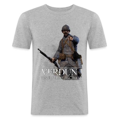 Official Verdun - Mannen slim fit T-shirt