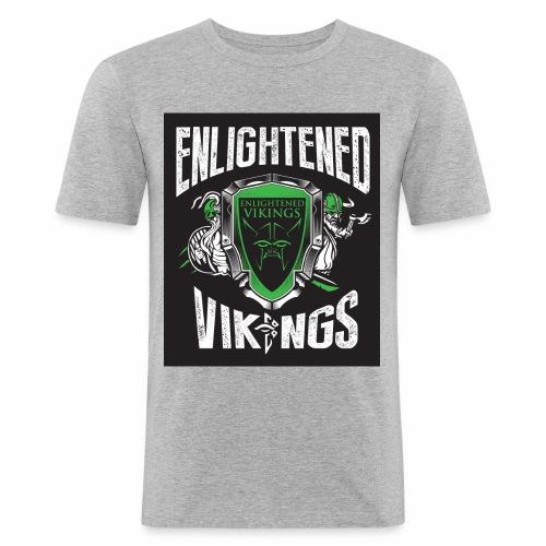 Enlightend Vikings - Slim Fit T-skjorte for menn