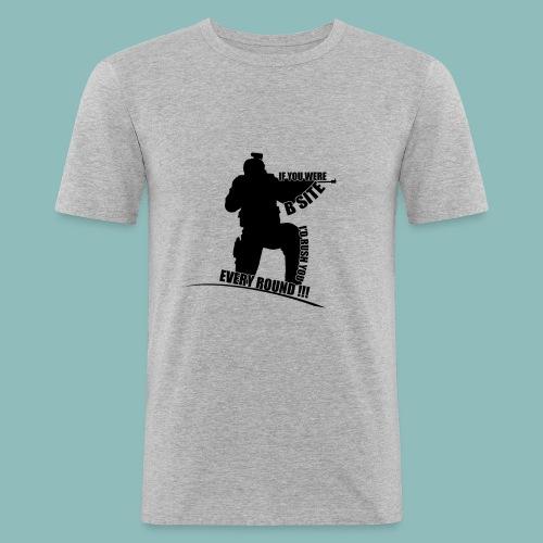 I'd rush you - Black Version - Männer Slim Fit T-Shirt