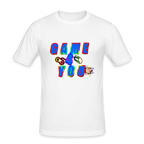 Game4You - Men's Slim Fit T-Shirt