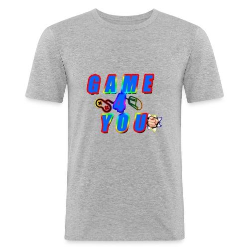 Game4You - Men's Slim Fit T-Shirt