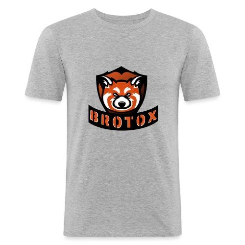 Brotox Transparent - Männer Slim Fit T-Shirt