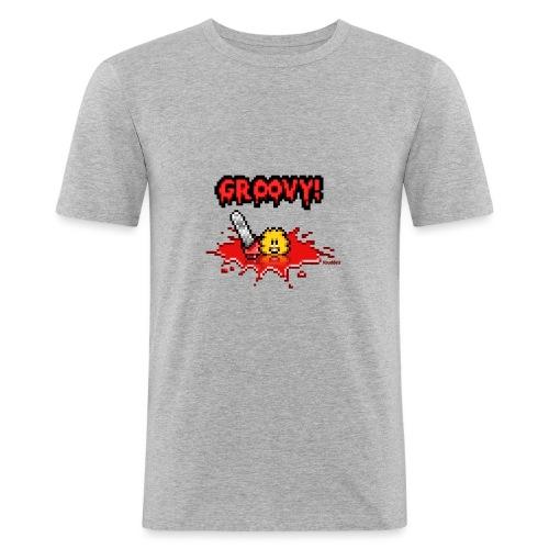Groovy! - Männer Slim Fit T-Shirt